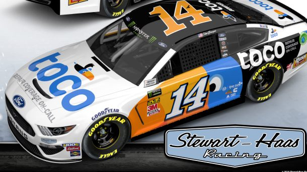 Stewart Haas Racing Reveals New Sponsor For Clint Bowyer
