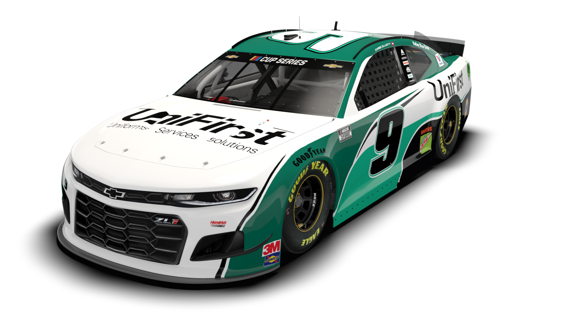 UniFirst to sponsor Chase Elliott in three Cup Series races this year