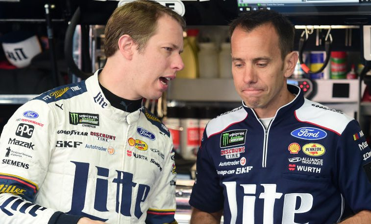 Team Penske shakes up driver/crew chief lineup