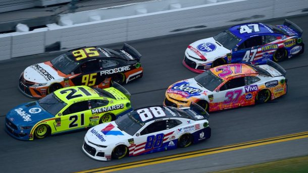 nascar race today channel and time