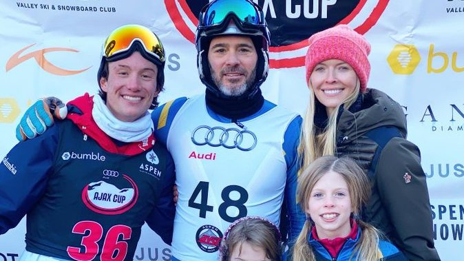 Jimmie Johnson, daughter part of winning team at Audi Ajax Cup