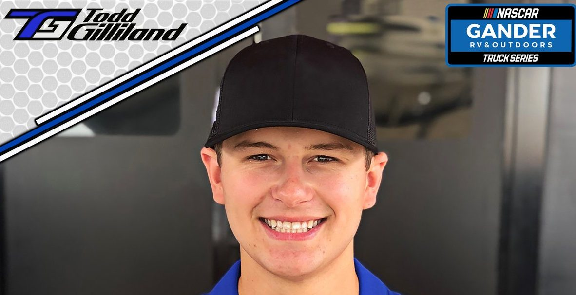 Todd Gilliland to pilot new Front Row Motorsports Truck entry in 2020