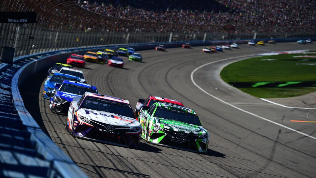 Auto Club's old surface provides 'moving target' for drivers - NBC Sports