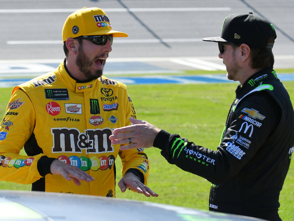 Busch brothers looking forward to some hometown cookin' - NBC Sports