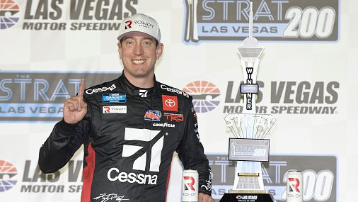 Kevin Harvick puts up bounty to beat Kyle Busch in trucks - NBC Sports