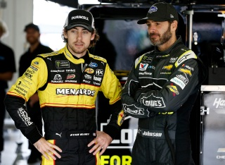 NASCAR: Jimmie Johnson's big influence on younger drivers - NBC Sports
