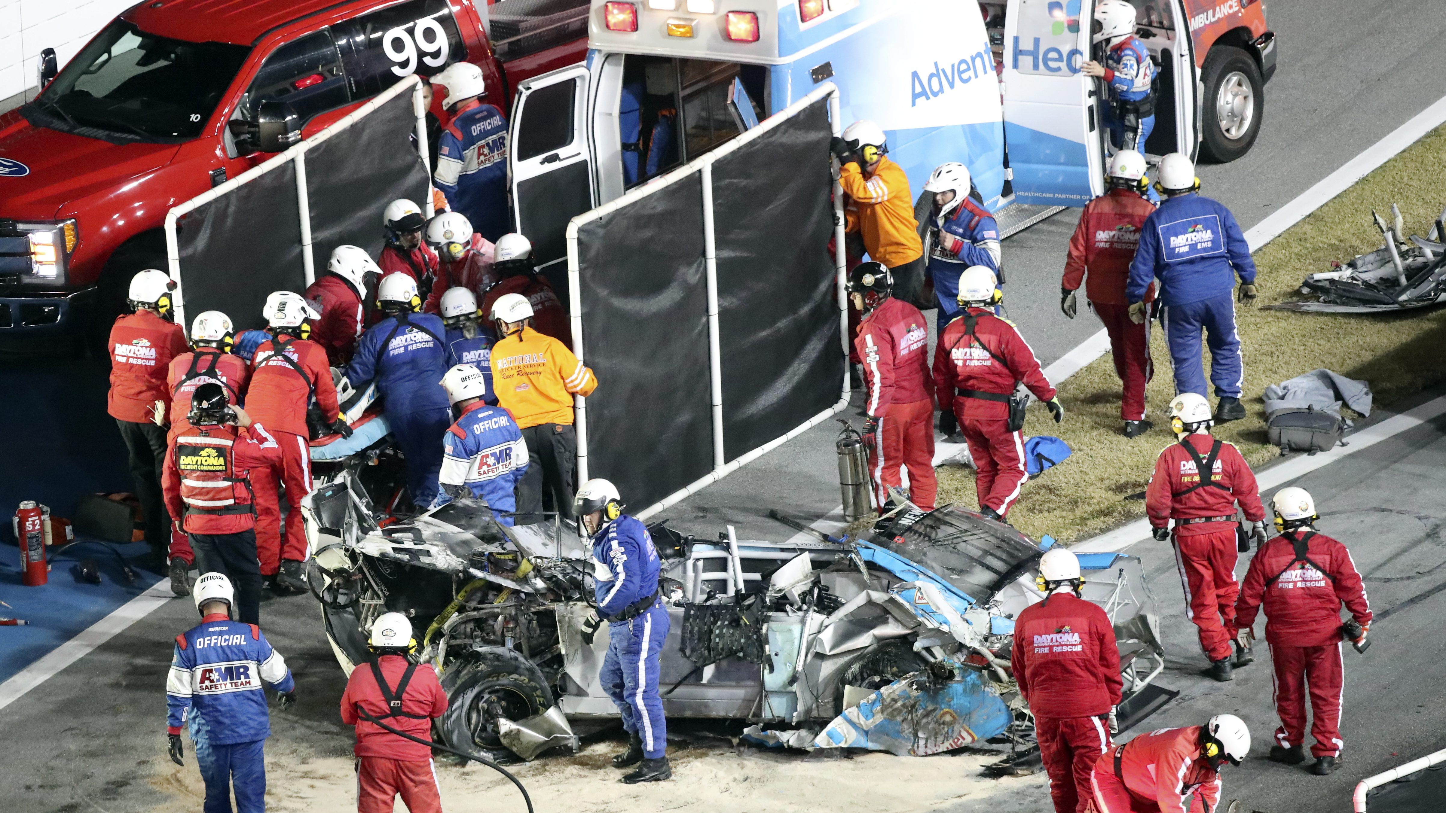 NASCAR: Kyle Petty 'very emotional' after Newman's crash - NBC Sports