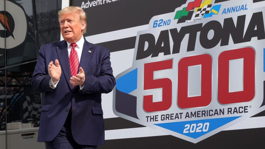 NASCAR among sports leagues on call with President Trump - NBC Sports