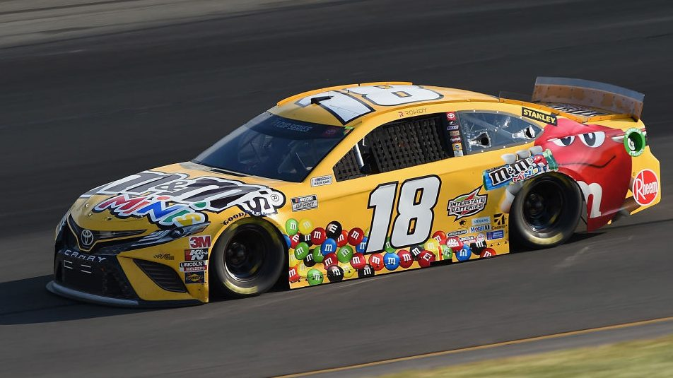 Inspection failures force Kyle Busch to start at rear