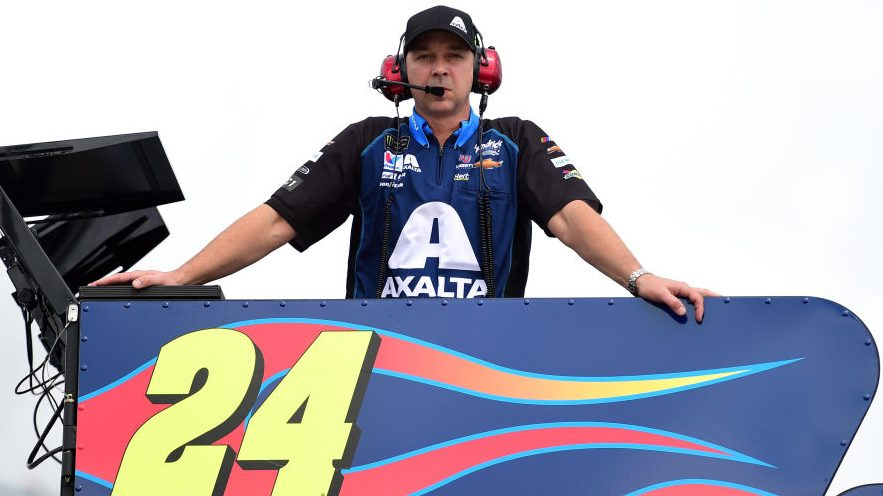 Chad Knaus to move off pit box for...