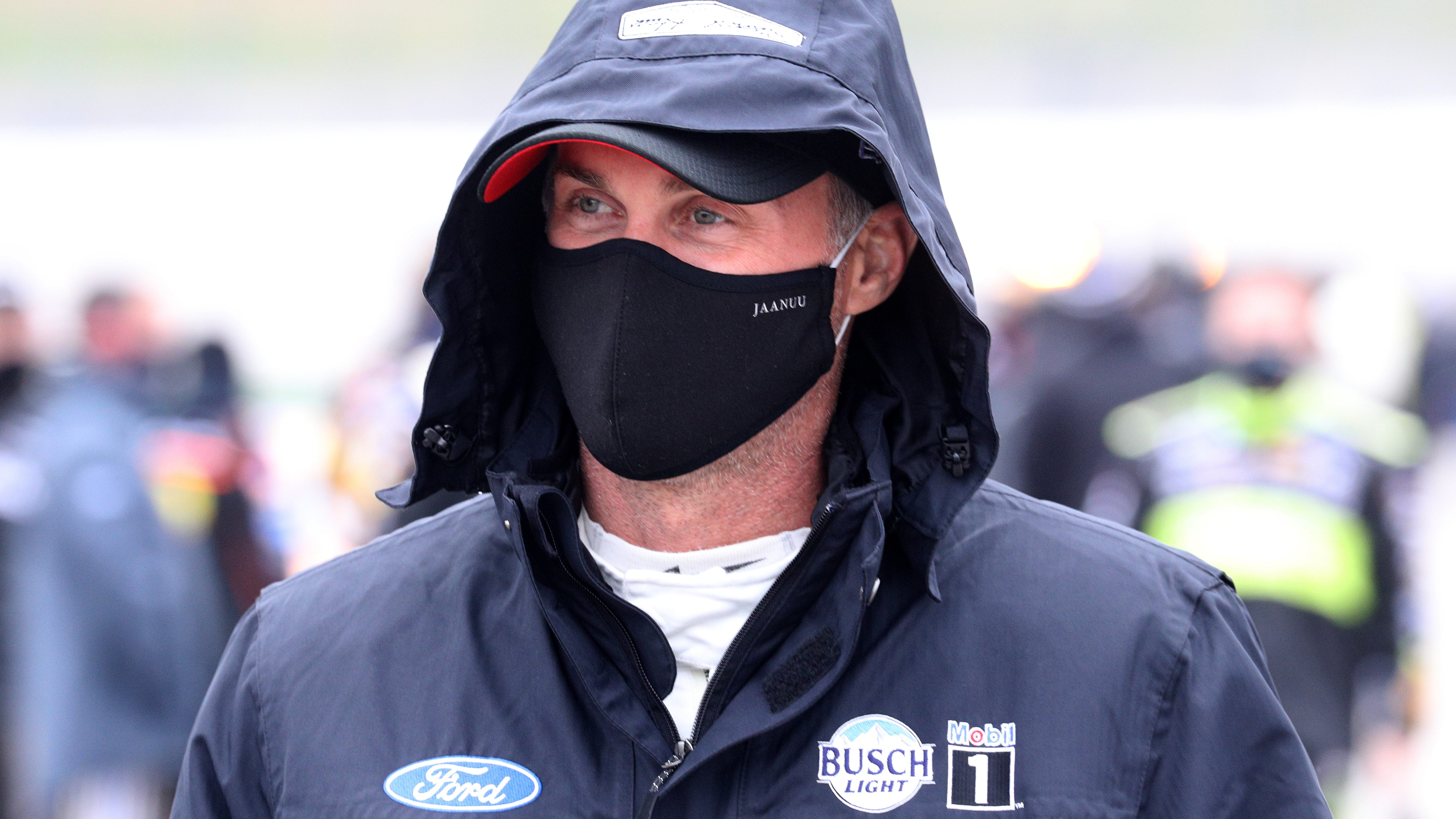 Kevin Harvick will start from the Cup pole position at Texas Motor Speedway