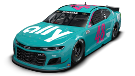 Alex Bowman Darlington throwback scheme