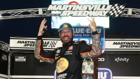Martinsville Cup race